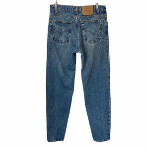 Levis 550 Vtg 90s Relaxed Fit Tapered Jeans 33/36